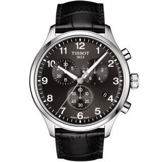 【TISSOT 天梭】TISSOT 天梭韻馳系列 Chrono XL計時手錶(T1166171605700)
