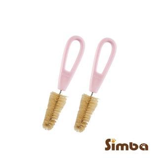 【Simba 小獅王辛巴】豬毛奶嘴刷(2入)