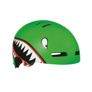 【LAZER】STREET JR 自行車兒童用安全帽-小鯊魚(52-56cm)