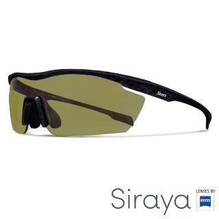 【Siraya】『專業運動』Siraya 運動太陽眼鏡 綠色鏡片 德國蔡司 GAMMA