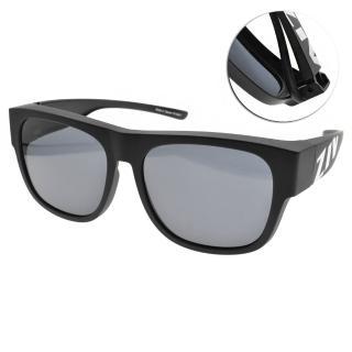 【ZIV 運動太陽眼鏡】外掛式太陽眼鏡(霧黑-灰鏡片#S103 023)