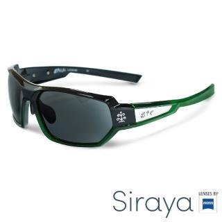 【Siraya】『時尚運動』運動太陽眼鏡 膠框 寬幅 德國蔡司 KAZAL 鏡框