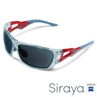 【Siraya】『時尚運動』運動太陽眼鏡 膠框 寬幅 德國蔡司 TILAU 鏡框