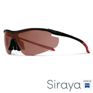 【Siraya】『專業運動』運動太陽眼鏡 紅色鏡片 德國蔡司 ZETA