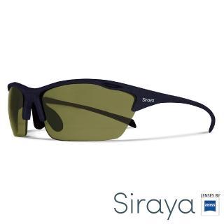 【Siraya】『專業運動』運動太陽眼鏡 綠色鏡片 德國蔡司 ALPHA