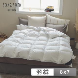 【PRIMARIO】台灣製 JIS 95D匈牙利產鴨絨冬被(特大 8X7尺)