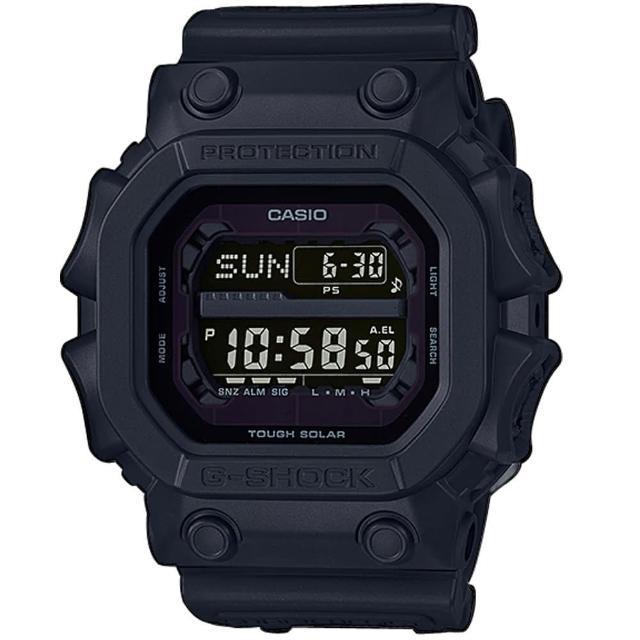 【CASIO 卡西歐】G-SHOCK經典太陽能運動錶(GX-56BB-1)