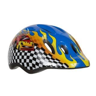 【LAZER】MAX+ 自行車兒童用安全帽-賽車藍(49-56cm)