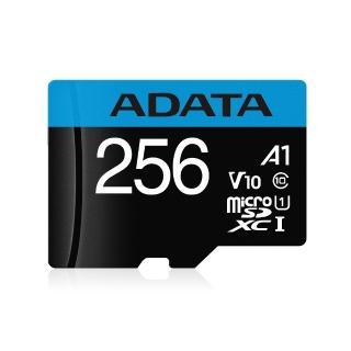 【ADATA 威剛】Premier microSDXC UHS-I  A1 256G記憶卡(附轉卡)