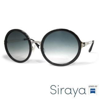 【Siraya】『韓流時尚』太陽眼鏡 圓框 德國蔡司 BUZATIG鏡框