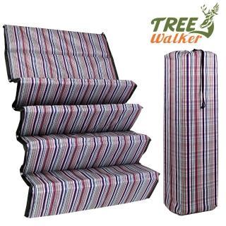 【TreeWalker】露遊趣繽紛加厚折疊睡墊(200x75x1.5cm)