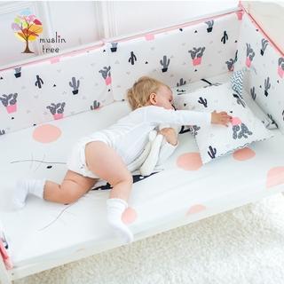 【Muslintree】嬰兒床加厚防撞床圍寶寶防摔床墊