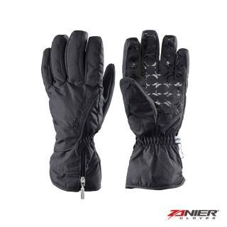 【Zanier】SEEFELD 女TEX Primaloft 防風防水保暖手套-黑灰(ZN26013-20)