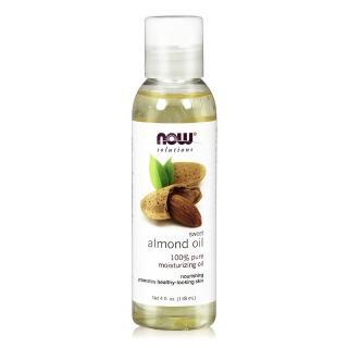 【NOW】甜杏仁油Sweet Almond Oil(4 oz / 118 ml)