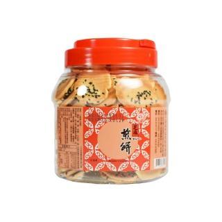 【一品名煎餅】彰化田中團購小煎餅-芝麻口味(300g 蛋奶素)