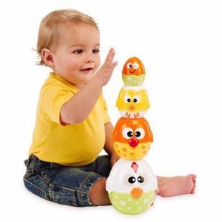 【Lakeshore】小雞母雞疊疊樂(玩具.教具.益智玩具.兒童幼兒.肌肉訓練)