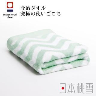 【日本桃雪】日本製原裝進口今治北歐浴巾(幸福綠)