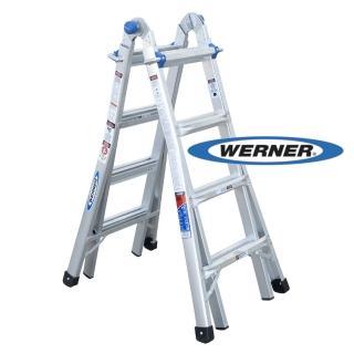 【WERNER】美國Werner鋁梯-MT-17 鋁合金伸縮式多功能梯/萬用梯