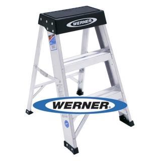 【WERNER】美國Werner穩耐安全鋁梯-150B 鋁合金梯凳/維修保養梯