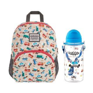 【HUGGER】幼童背包+吸管水壺組合(多款任搭)