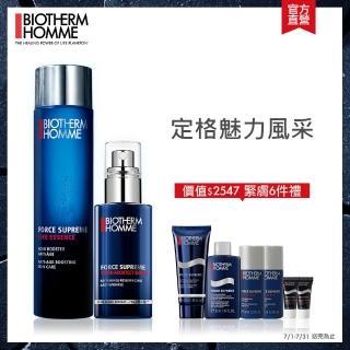 【Biotherm 碧兒泉】極量緊膚修護組(精露100ml+緊膚精華50ml)