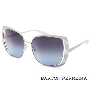 【Barton Perreira】Barton Perreira-經典十周年美國好萊塢太陽眼鏡 - ARLEQUIN(SIL/WHI/STB-白)
