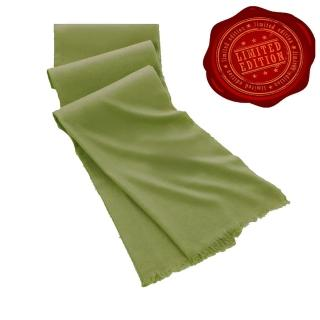 【5TH AVE】第五大道400支紗Shahpashm披肩(尼羅河綠)