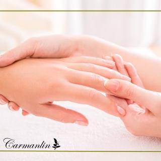 【卡蔓林Carmanlin】手部基礎保養+熱石按摩(美甲)