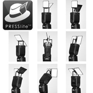 PRESSlite VerteX偉特雙光反射板(多角度機頂外閃光燈反光板)