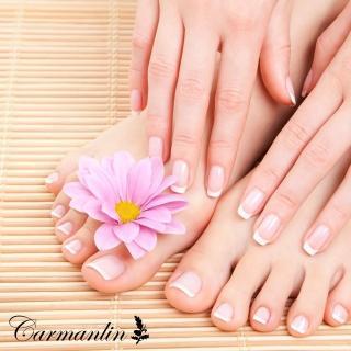 【卡蔓林Carmanlin】足部基礎保養+熱石按摩(美甲)