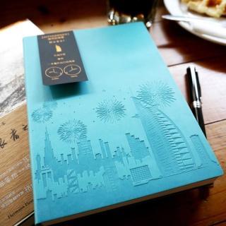 【Conifer 綠的事務】城市的角落 50K橫線筆記本(精裝  萬用手冊  手札  手帳  筆記本)