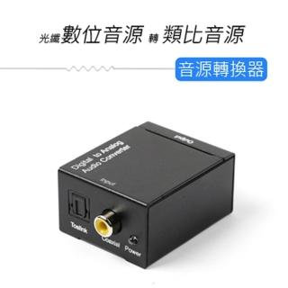 光纖數位音源轉類比音源轉換器