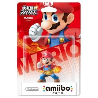 【Nintendo 任天堂】amiibo公仔 瑪利歐(明星大亂鬥)