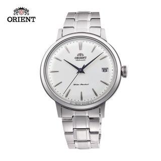 【ORIENT 東方錶】ORIENT 東方錶 DATEⅡ系列 機械錶 鋼帶款 銀色 - 36.4mm(RA-AC0009S)