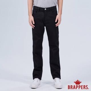 【BRAPPERS】男款 HC-Cargo系列-中腰彈性保暖直筒褲(黑)