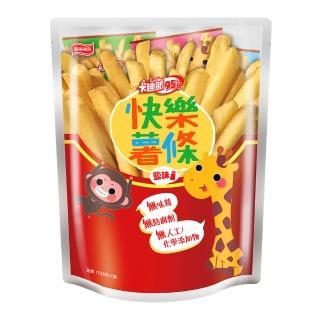 【卡迪那】95℃快樂薯條鹽味(15Gx7包)