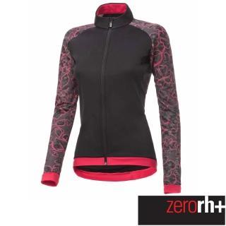 【ZeroRH+】義大利 FASHION LAB 女仕專業自行車外套(黑/紅 ICD0609_14P)