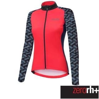 【ZeroRH+】義大利 FASHION LAB 女仕專業刷毛自行車衣(紅色 ICD0610_09P)