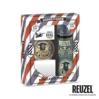 【REUZEL】GROOM & GROW 鬍鬚保養造型禮盒組