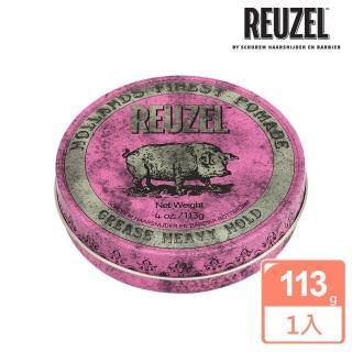 【REUZEL】Pink Pomade Grease 粉紅豬超強髮油(113g)