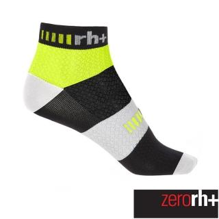 【ZeroRH+】義大利 Cinque 5CM 低筒運動襪(螢光黃 ECX9111_917)