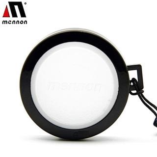 【Mennon】白色白平衡37mm鏡頭蓋(白平衡板WB蓋 鏡頭保護蓋)