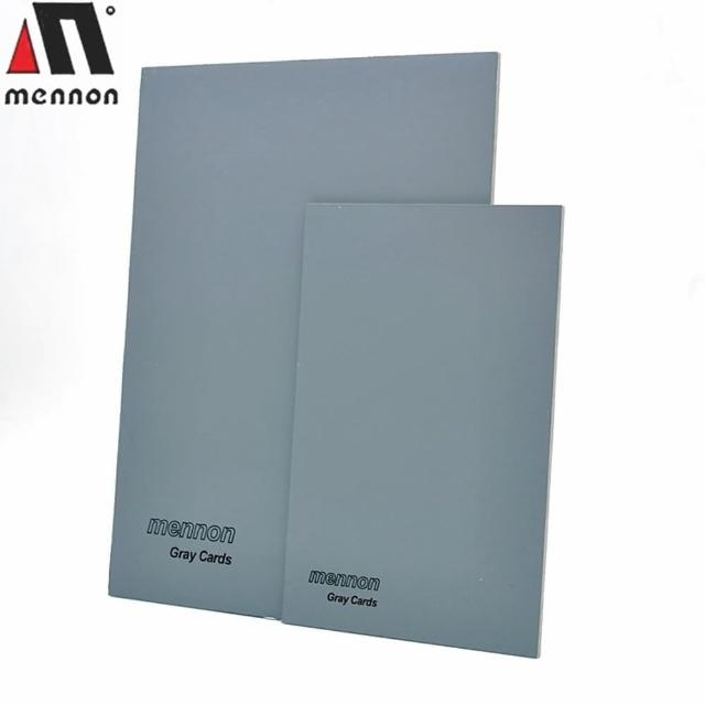 【Mennon】18%灰卡小套裝-2張入(白平衡工具
