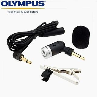 【OLYMPUS】降噪麥克風ME52W-有線式 長1米(收音麥克風 錄音麥克風 領帶夾 領夾式)
