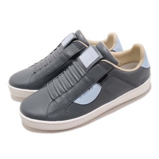 【ROYAL Elastics】休閒鞋 Icon 低筒 運動 男鞋 基本款 穿脫方便 質感 球鞋 穿搭 灰 藍(02984885)