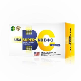 【Natural D】美國Natural D 活力百百高單位B+C(30粒*5盒)
