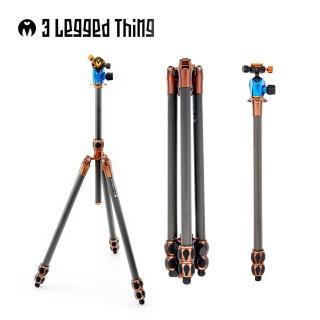 【3 Legged Thing】WINSTON KIT  3節碳纖維三腳架(管徑29mm含雲台全景夾座)