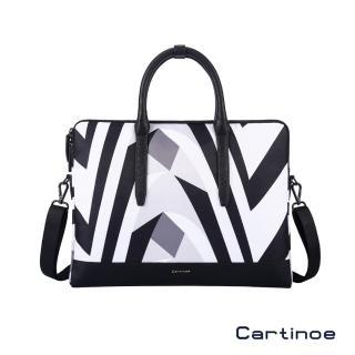 【Cartinoe】Cartinoe 卡提諾 13吋 斑馬紋風尚系列手提筆電包 電腦包(CL224)