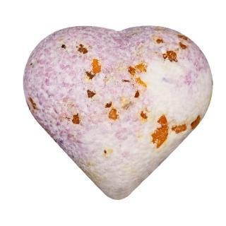 【SAULES FABRIKA】心型香氛沐浴球 英國小蒼蘭 3入禮盒裝(香氛 淨化 滋養 保濕)