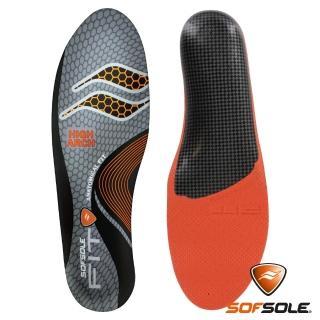 【美國 SOFSOLE】高足弓記憶鞋墊 S1337 北美版(鞋墊 足弓 高足弓 支撐 美版)